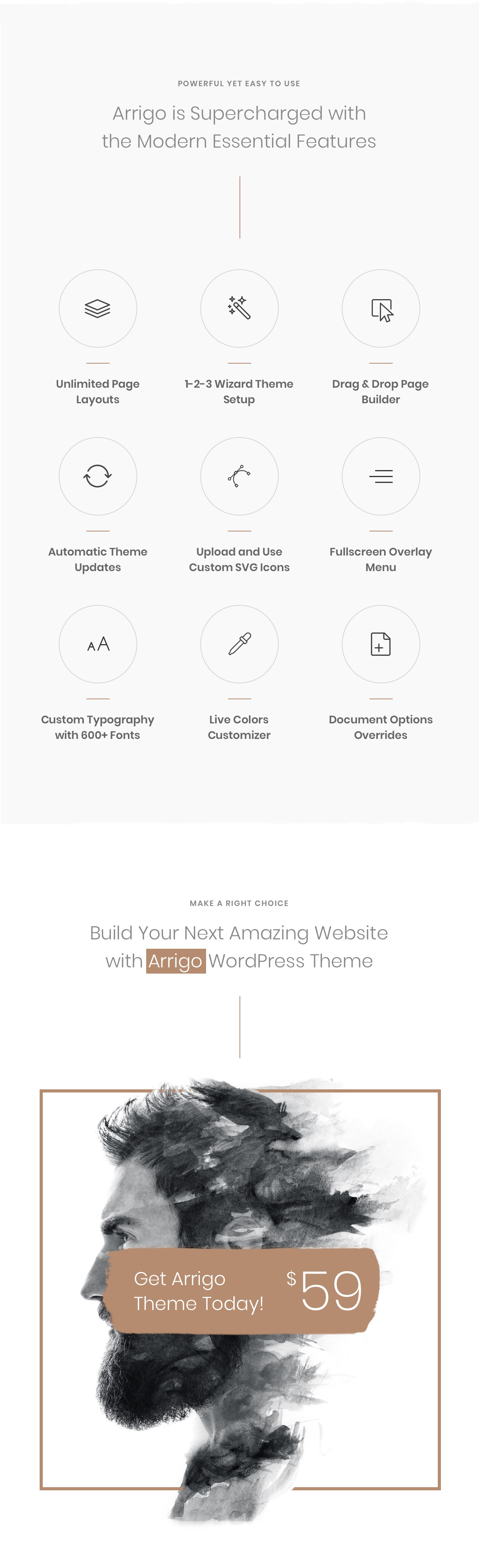 Arrigo – Contemporary Creative Portfolio Elementor WordPress Theme - 10