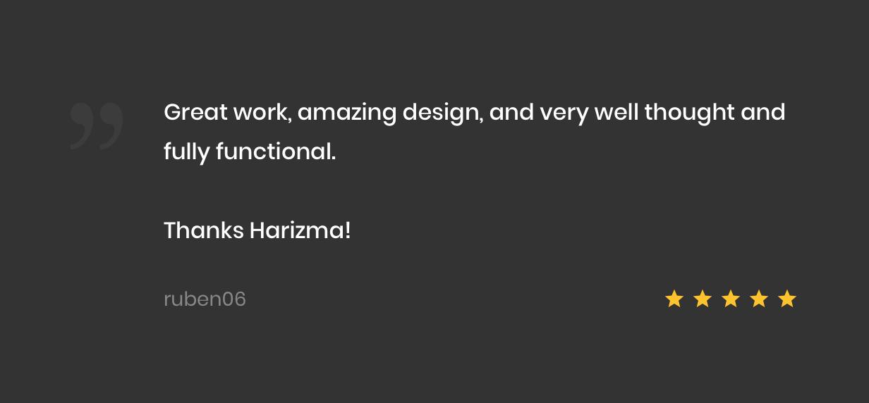 Harizma – Modern Creative Agency WordPress Theme - 5