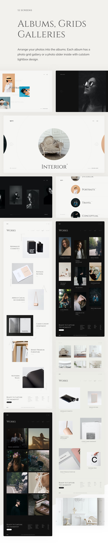 Rhye – Photography & Portfolio PSD Template - 5