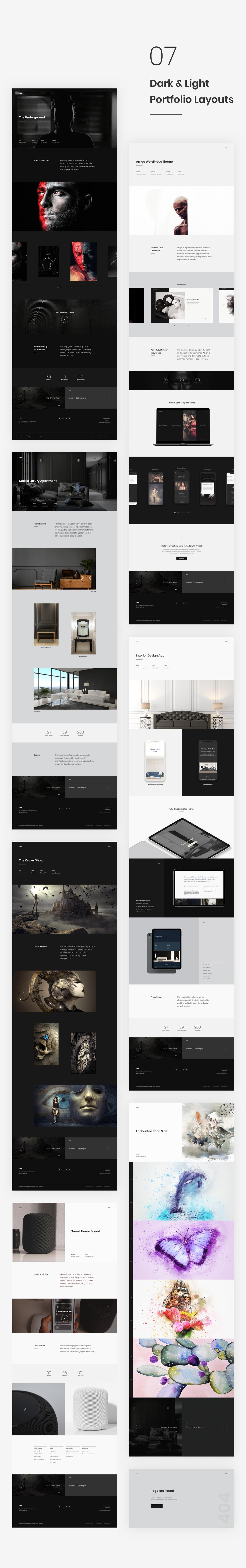 Rubenz – Creative Portfolio Showcase Sketch Template - 6