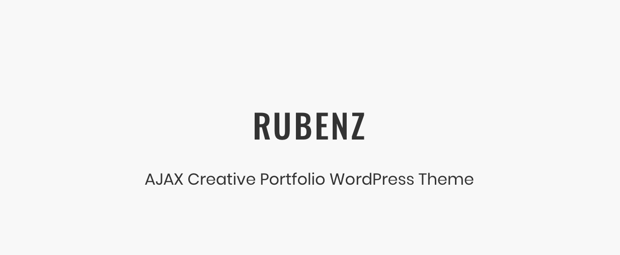 Rubenz – Creative Portfolio AJAX WordPress Theme - 4