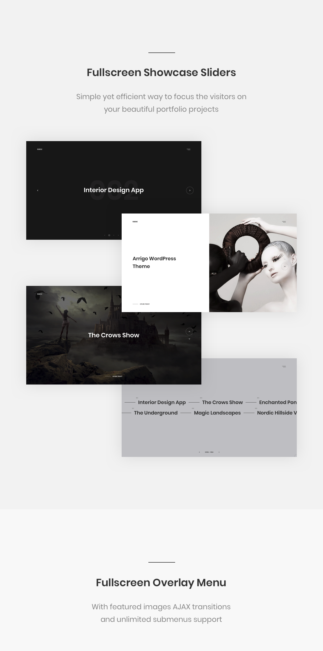 Rubenz – Creative Portfolio AJAX WordPress Theme - 12